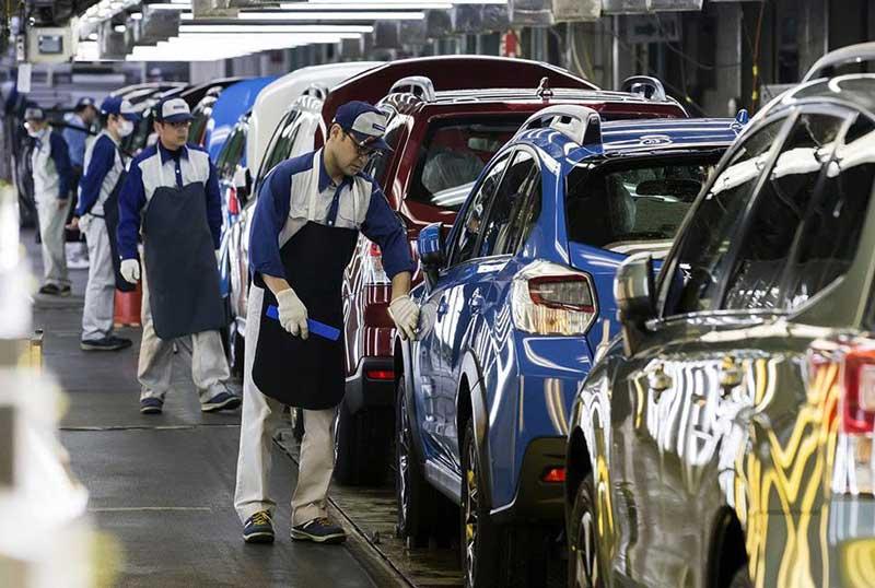 Компания Subaru вынуждена остановить производство автомобилей 1