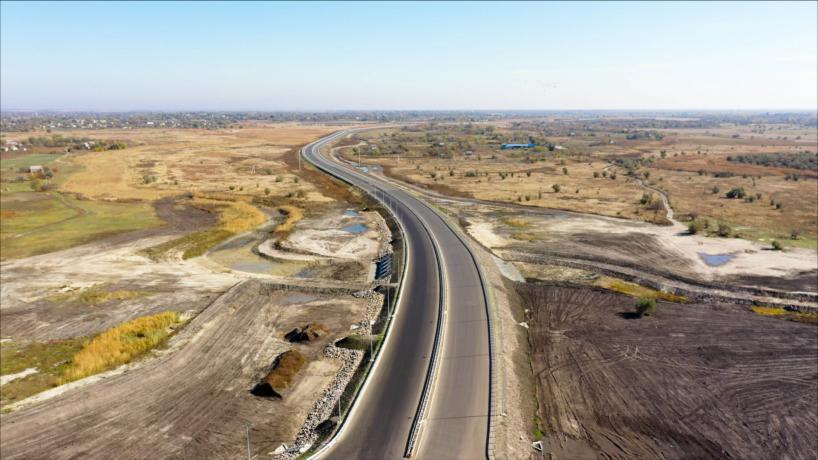 Свежие фотографии с места строительства дороги «с нуля» 4