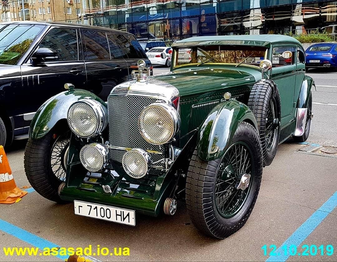 В Украине замечен культовый Bentley возрастом почти 90 лет 1