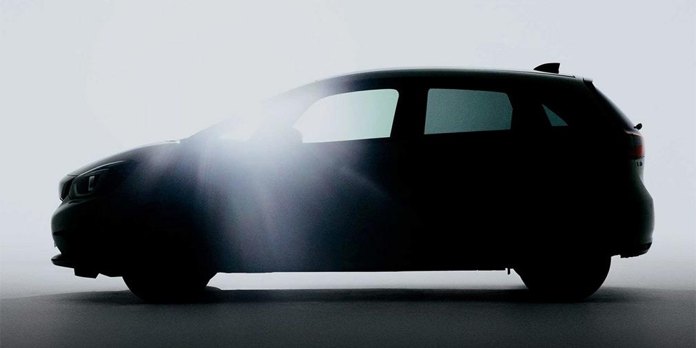 Honda опубликовала первое изображение нового Jazz 1