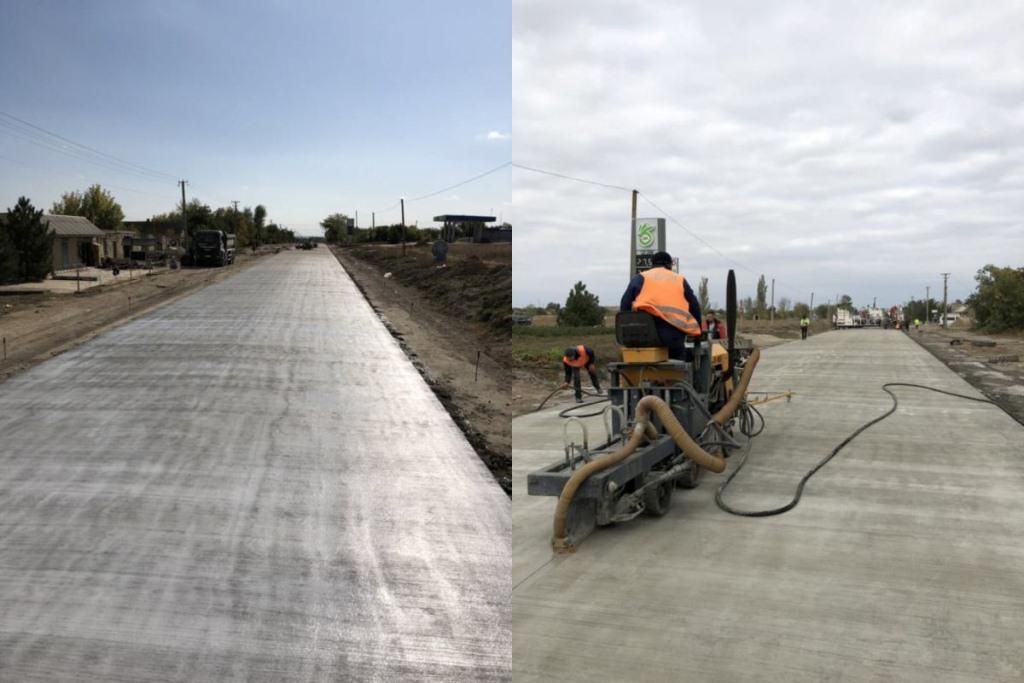 Как продвигается бетонирование трассы Кропивницкий – Николаев 2