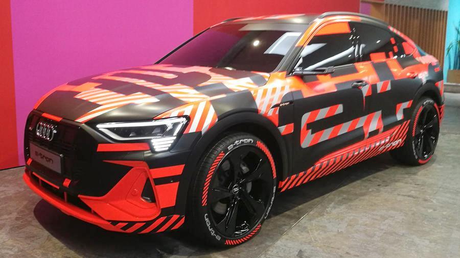 Audi презентует новый электрокар 1