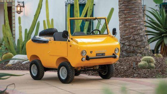 Найден самый первый внедорожник марки Fiat 1