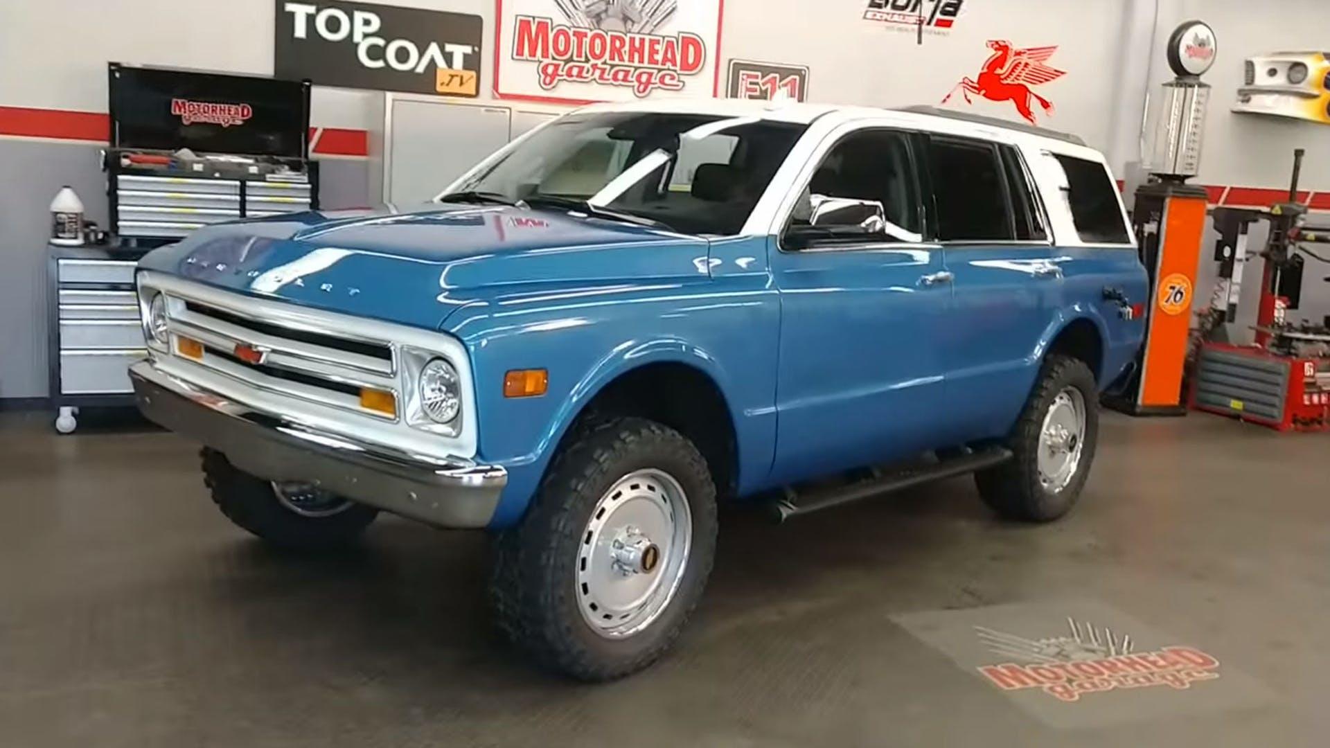 Chevrolet Tahoe специально «состарили» на 50 лет 1
