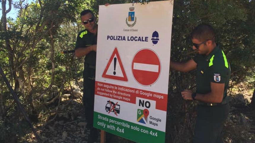 Итальянская полиция призывает не верить Google Maps 2