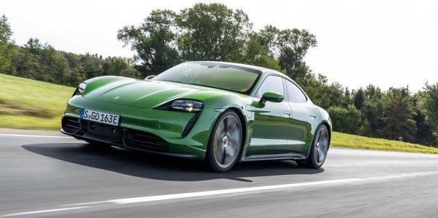 В Porsche слабым звеном модели Taycan назвали его водителя 1