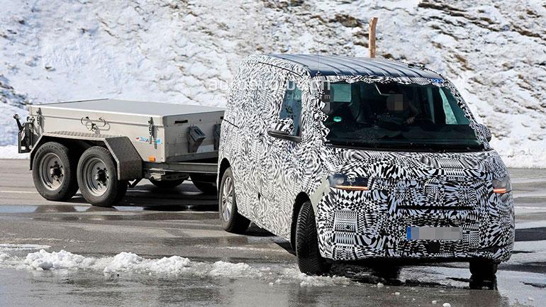 На тестах поймали прототип Volkswagen T7 1