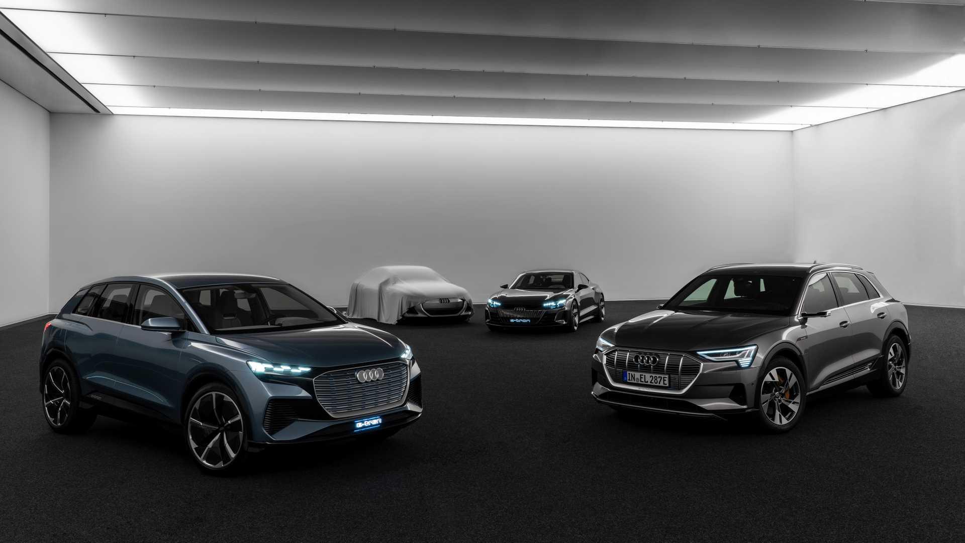 Porsche поможет Audi сделать электрический седан 2