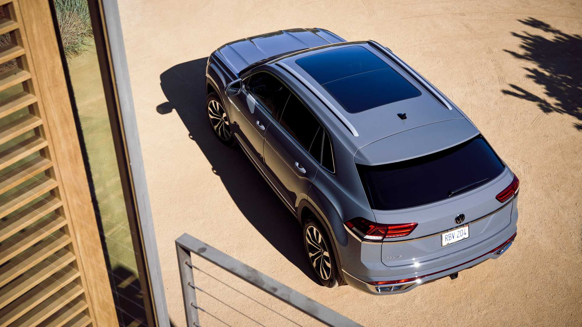 Volkswagen Teramont обменял семиместность на купеобразность 3