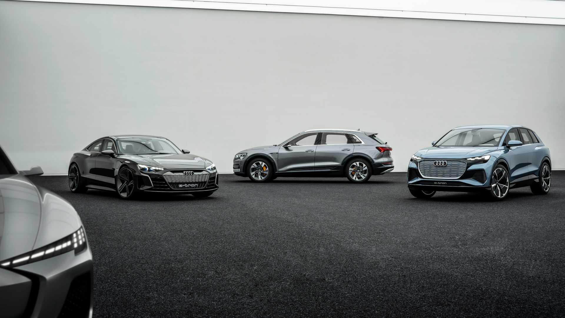 Porsche поможет Audi сделать электрический седан 1