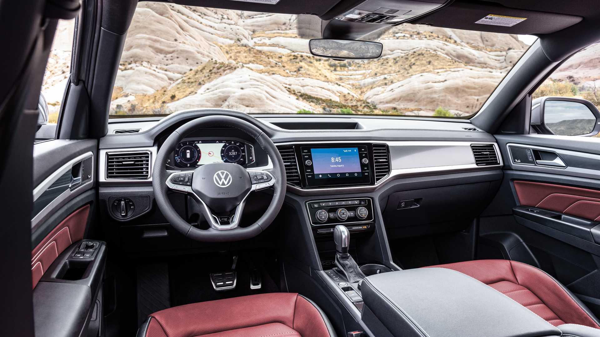 Volkswagen Teramont обменял семиместность на купеобразность 4