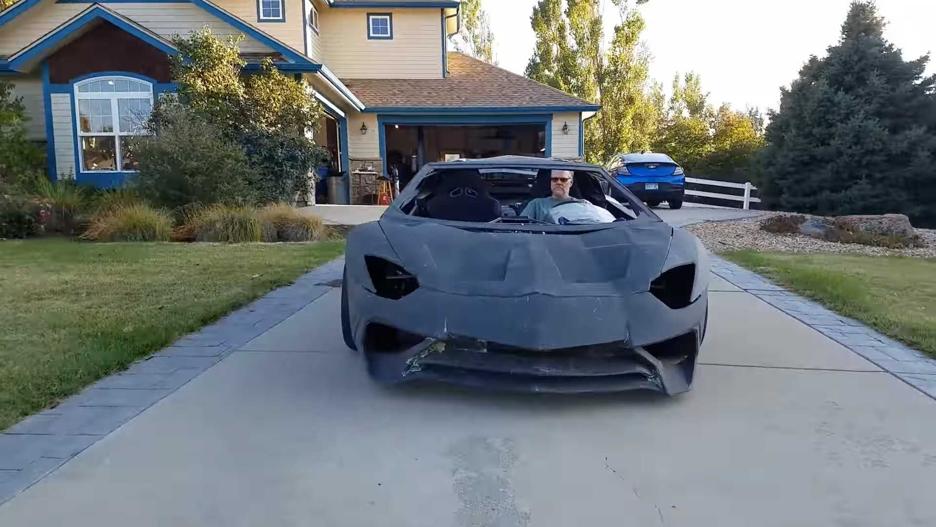 Американец напечатал Lamborghini Aventador на 3D-принтере 1