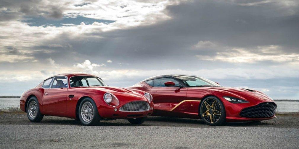 Компания Aston Martin показала два самых дорогих автомобиля в своей истории 2