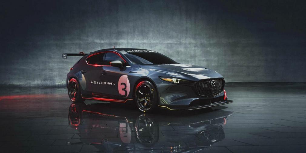 Новую Mazda3 превратили в 350-сильный гоночный автомобиль 1