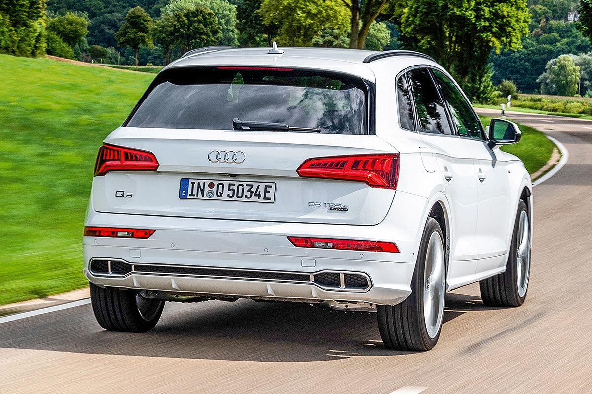 Тест-драйв плагин-гибридного автомобиля Audi Q5 2