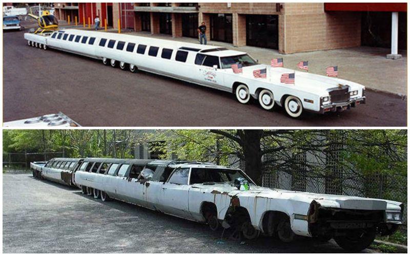 Печальная судьба самого длинного лимузина на планете 1