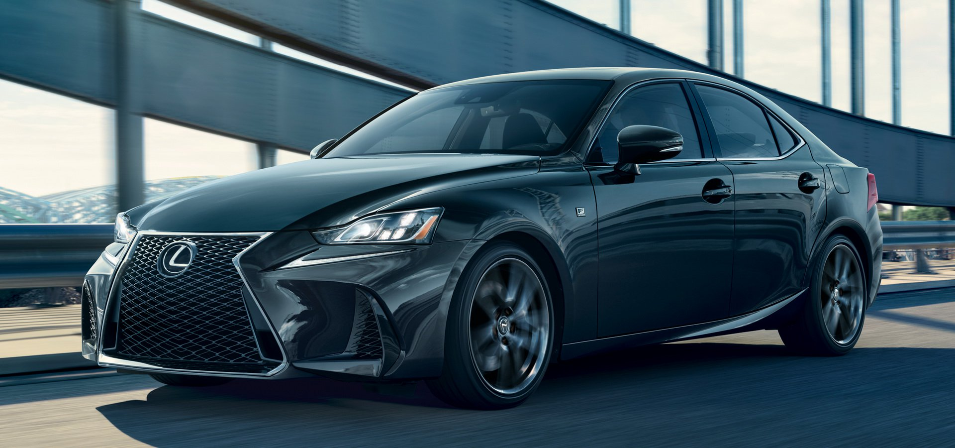Lexus IS F получит особую версию Blackline Special Edition 1