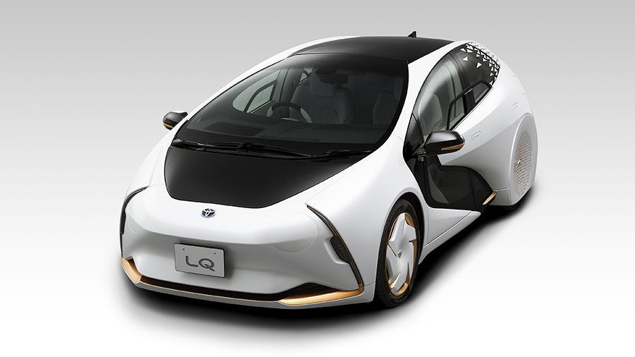 Toyota представит футуристический концепт с искусственным интеллектом 1