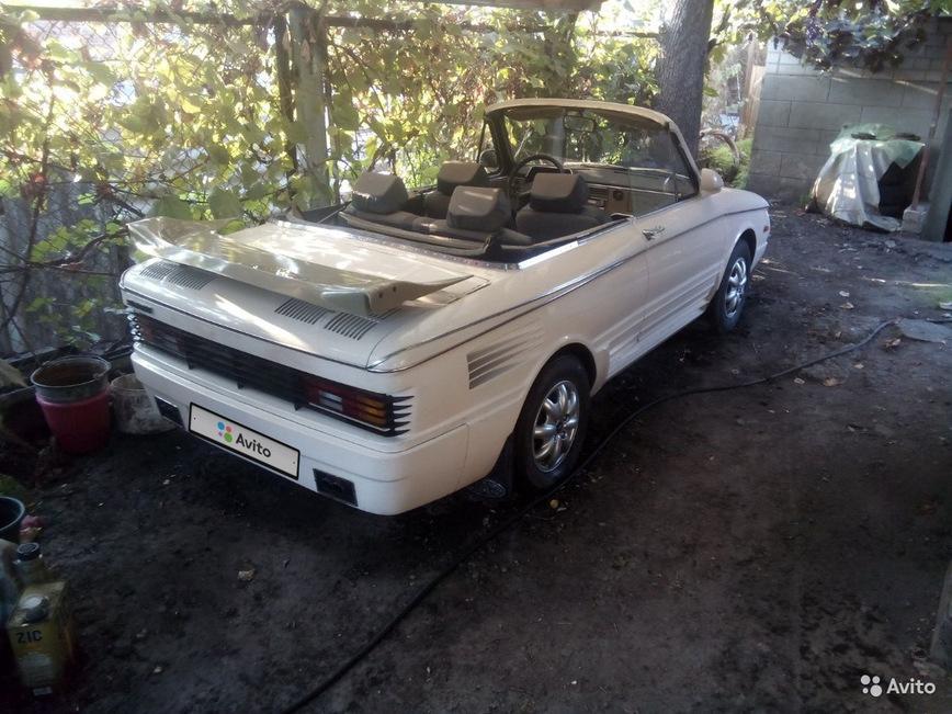 Из старого «Запорожца» сделали стильный кабриолет 2