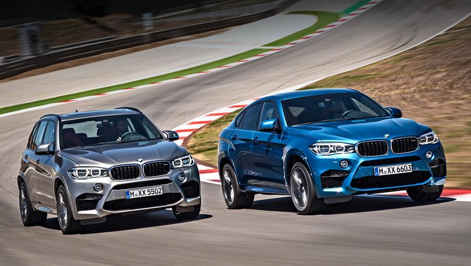 BMW выпустила новые мощные паркетники 1