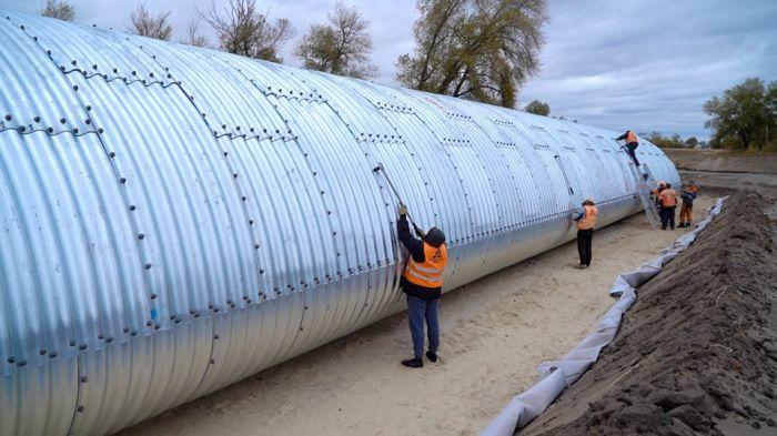 Как в Украине строят четырехполосную дорогу «с нуля» 2