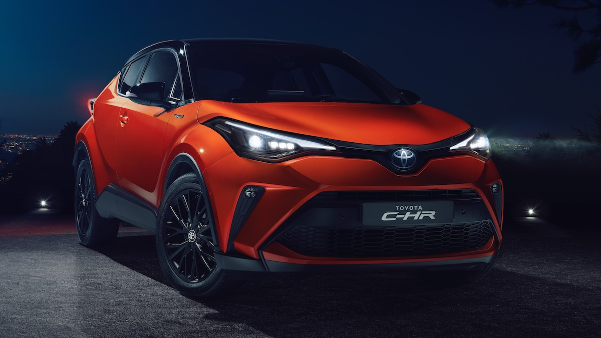 Toyota обновила кроссовер С-HR 1