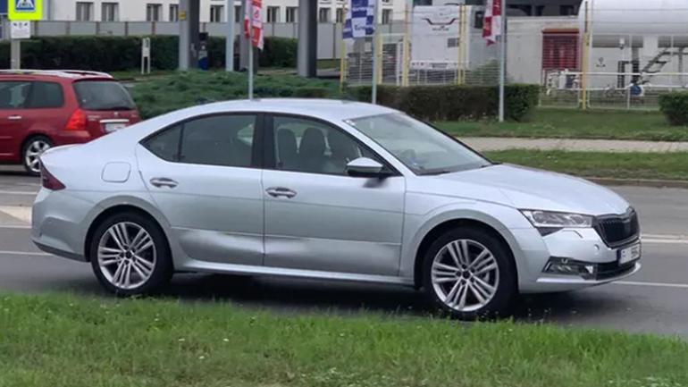 В Чехии замечена новая Skoda Octavia 1