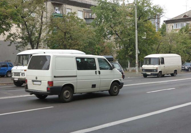 Предшественники Mercedes-Benz Sprinter все еще в строю 1