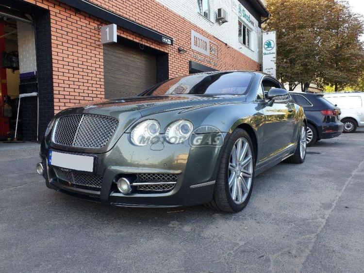 В Украине появилась Bentley с ГБО 1