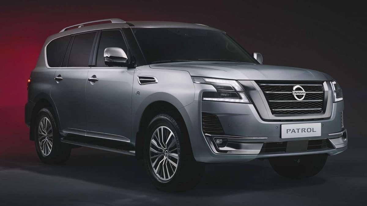 Новый Nissan Patrol полностью рассекречен 1