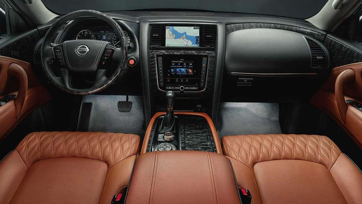 Новый Nissan Patrol полностью рассекречен 3
