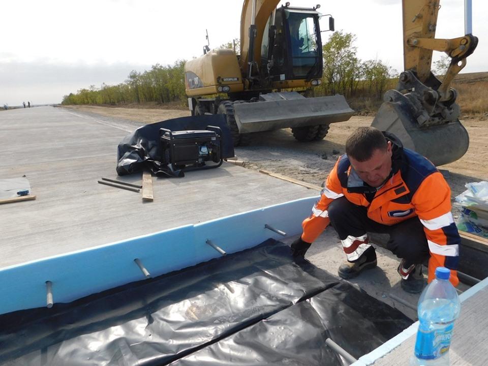 Как сейчас выглядит новая бетонная дорога «Николаев – Кропивницкий» 1