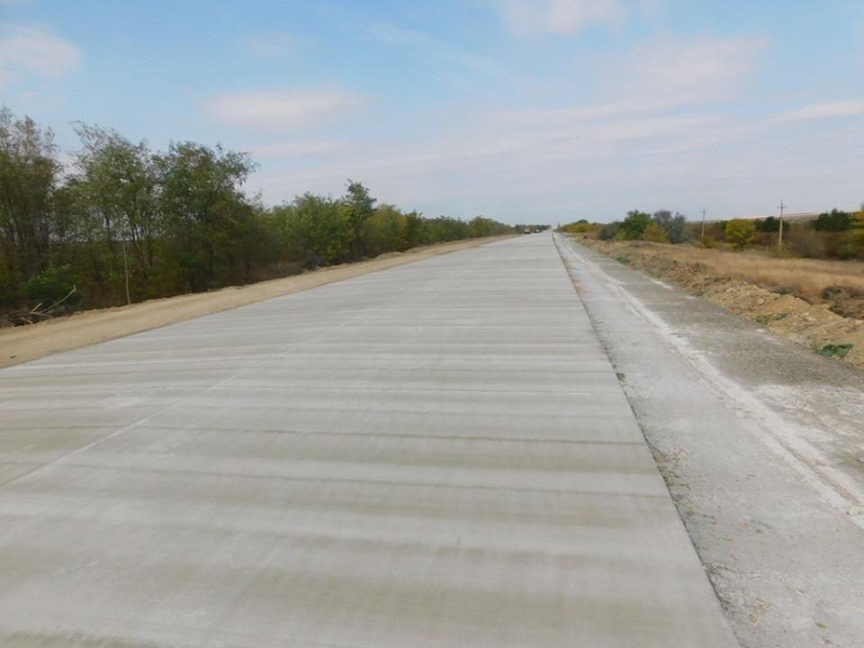 Как сейчас выглядит новая бетонная дорога «Николаев – Кропивницкий» 4