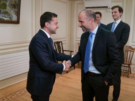 Владимир Зеленский предложил компании Uber увеличить инвестиции в Украину 1