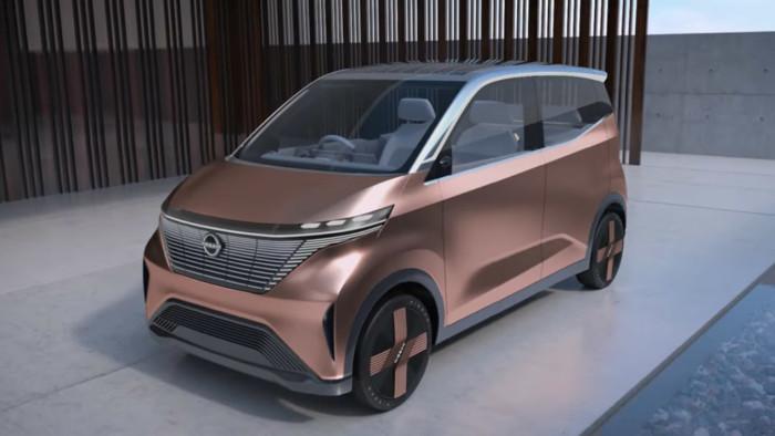 Nissan анонсировал премьеру беспилотного электрокара 1
