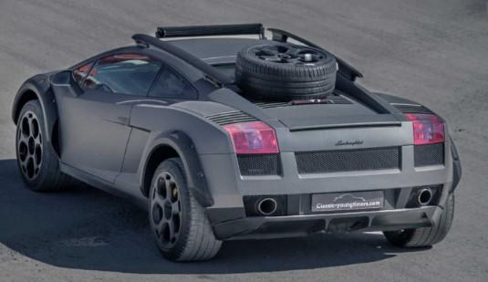 Lamborghini Gallardo неожиданно стал внедорожником 2
