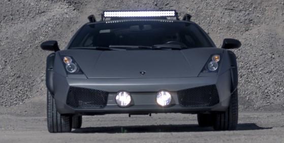 Lamborghini Gallardo неожиданно стал внедорожником 1