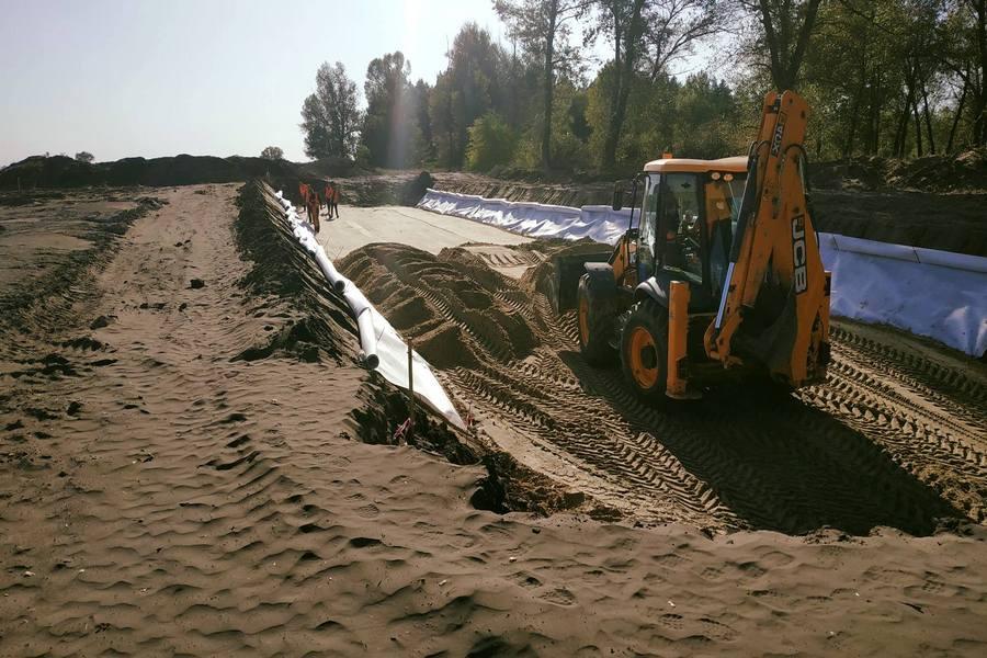 Как продвигается строительство дороги из Киева в Днепр 3