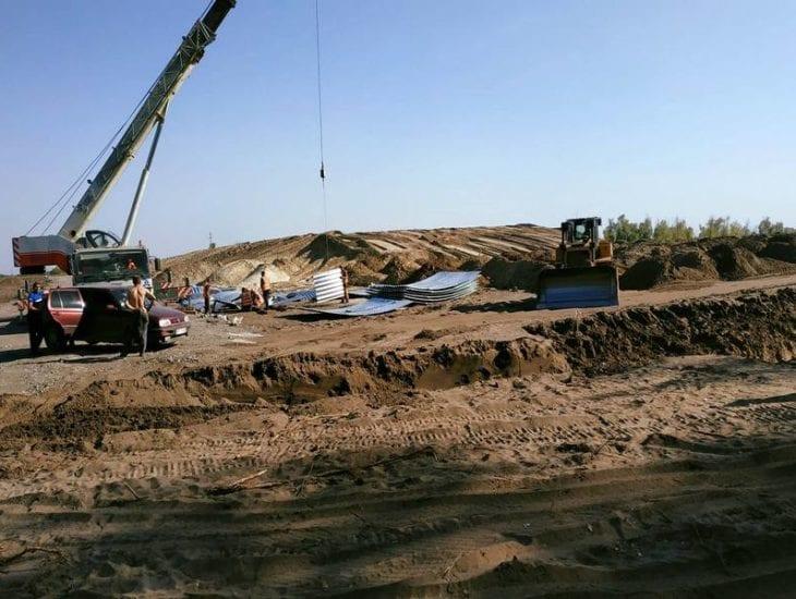 Как продвигается строительство дороги из Киева в Днепр 1