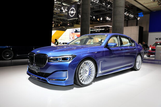 Самый быстрый BMW Alpina B7 xDrive уже замечен в Украине 2