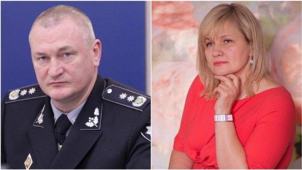Бывшую жену главы Нацполиции обвинили в незаконном вывозе почти 20 миллионов гривен 1