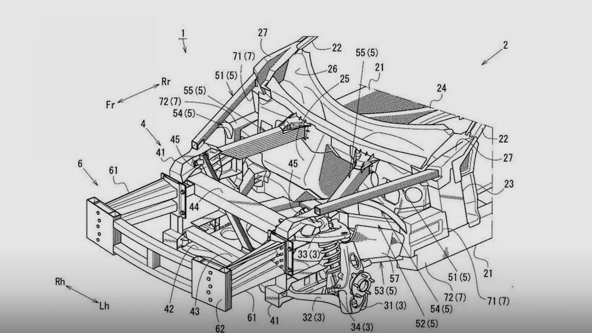 Mazda неожиданно запатентовала новый суперкар 1