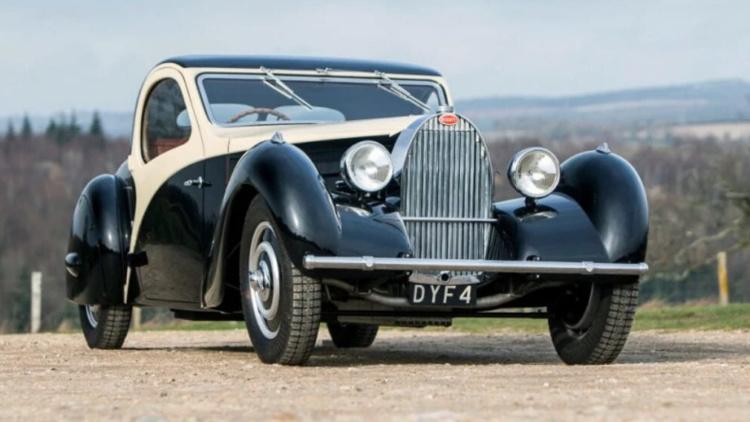 Единственный кабриолет Bugatti продали за полтора миллиона фунтов 1