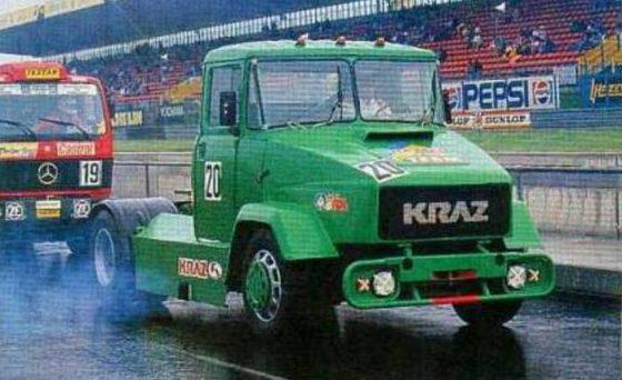 Уникальный гоночный КрАЗ покажут украинцам 1