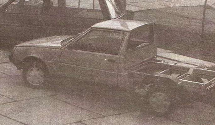 В Сети показали необычный грузовой ЗАЗ 1