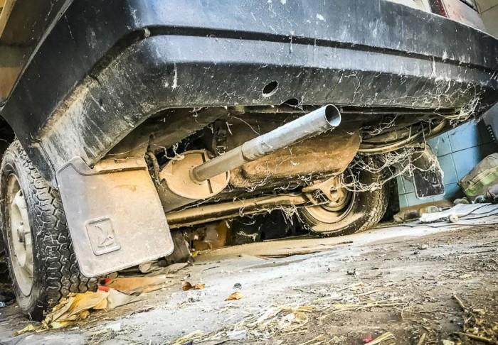 В Украине обнаружили ВАЗ-21099, который четверть века простоял в гараже» 3