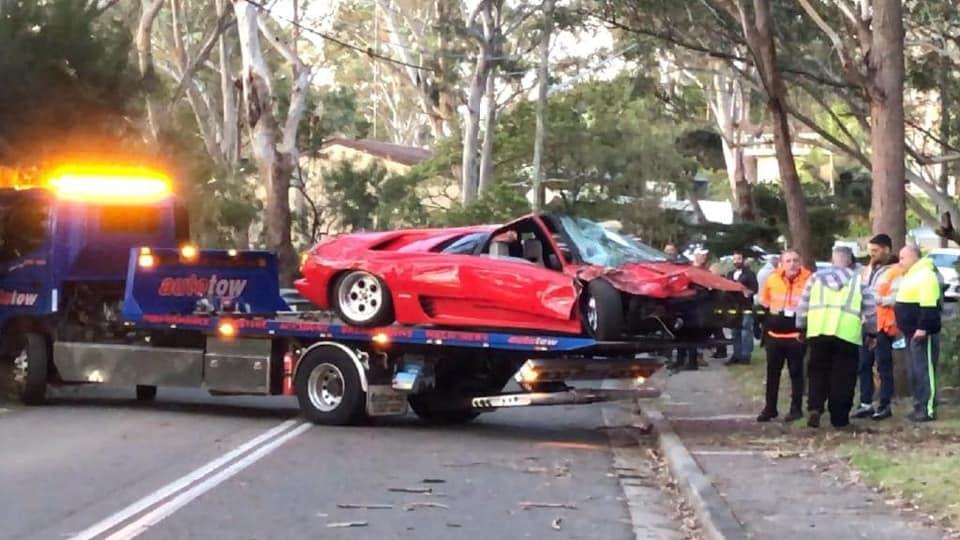 Легендарный Lamborghini Diablo разбили сразу после покупки 2
