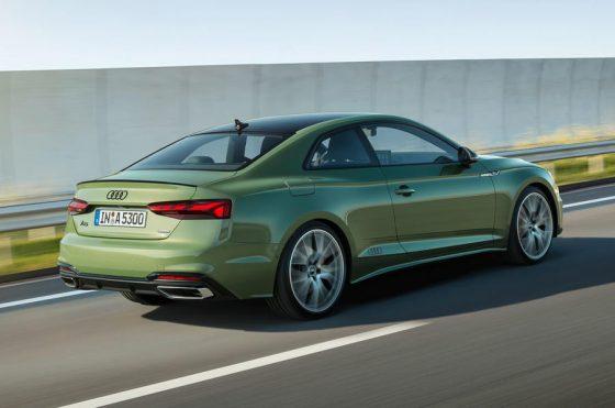 Компания Audi обновила семейство A5 3