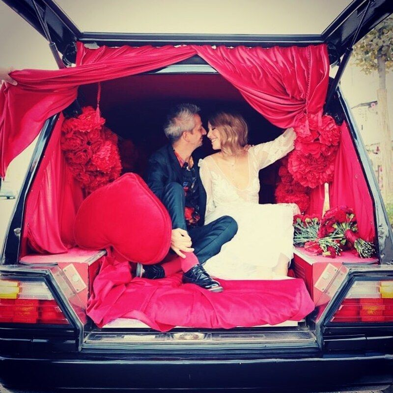 Полиция оштрафовала Ксению Собчак за езду в свадебном катафалке 1