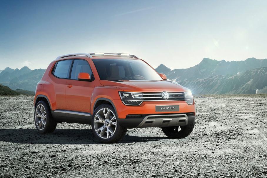 Volkswagen выпустит очень маленький бюджетный кроссовер 1